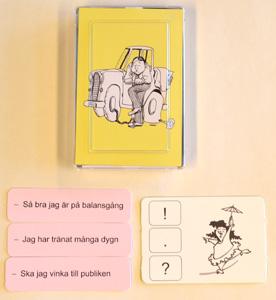 Punkt och slut - laborativa övningar i svenska