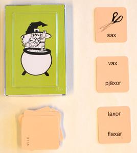 Rimpussel - laborativa övningar i svenska
